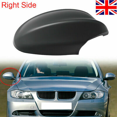 Right Driver Side Black Wing Mirror Cover Cap for VAUXHALL ASTRA H 04-09~ RA