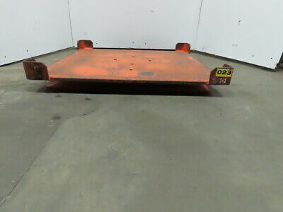 "Heavy Duty 52""x48"" Pallet/Basket Material Handling 360° Turn Table 4-1/2"" High"