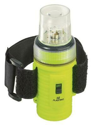 Lampe flash 4-LED étanche paddle - Plastimo Flashlight Jaune