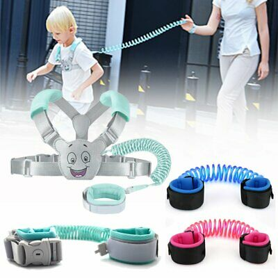 Child Wrist Leash Harness Backpack Baby Kid Toddler Wrist Strap Safety Anti Lost