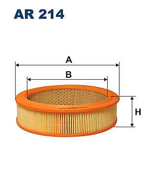 FILTRON AR 214 Air Filter NG12G19 OE REPLACEMENT TOP Quality