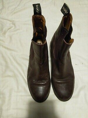 TOGGI TUSCON CHILD HANDMADE PERFORATED LEATHER HORSE RIDING YARD BOOTS ALL SIZES