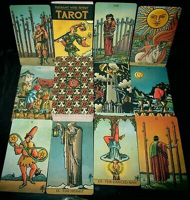 Sealed Brand New! Radiant Wise Spirit Tarot Cards & Book Oracle Waite & Smith