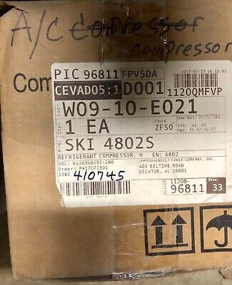 Freightliner A/C Compressor Ski 4802S New In Box