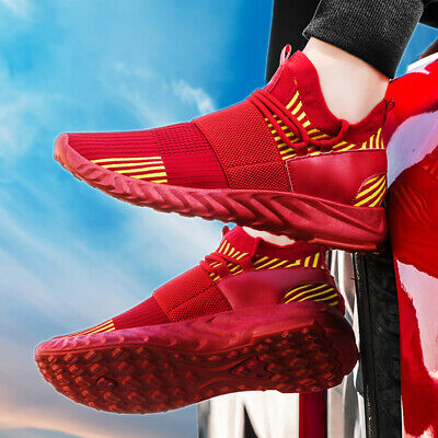 Men's Athletic Sneakers Sports Casual Trainers Outdoor Running Shoes Lightweight