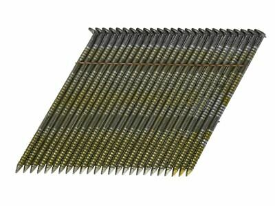 28� Bright Ring Shank Stick Nails 2.8 x 75mm Pack of 2000 BOSS280R75