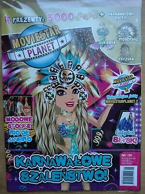 MovieStarPlanet Magazine 1/2020 + codes: 3000 SC + CARNIVAL OUTFIT!