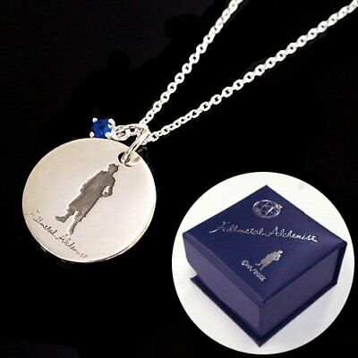 FULLMETAL ALCHEMIST flamel logo Edward anime necklace brotherhood pendant Ed 4H