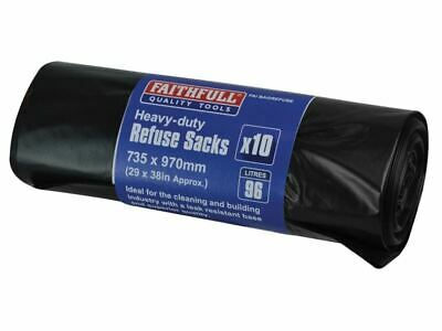 Heavy-Duty�Black�Refuse�Sacks�(10) FAIBAGREFUSE