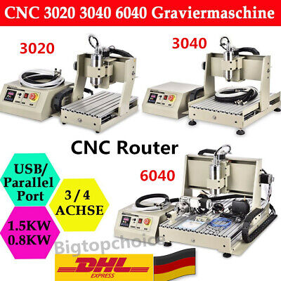 USB 3/4Axis 6040 CNC Router Engraver Engraving Milling Machine 400W 800W 1500W