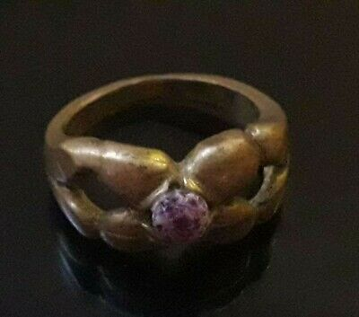 Antique Ancient Roman Ring Bronze Legionary Unique Artifact Stunning Very Rare