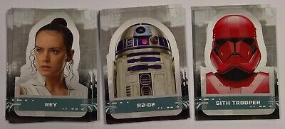 2019 Topps Star Wars Rise of Skywalker Series 1 CHARACTER STICKERS Insert (Pick)