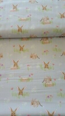 Cot Fitted Sheet  - suit 60 x 100 cm mattress - Bilby print 100% cotton
