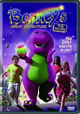 BARNEY'S GREAT ADVENTURE THE MOVIE New Sealed DVD