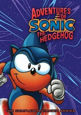 ADVENTURES OF SONIC THE HEDGEHOG COMPLETE ANIMATED SERIES New Sealed 6 DVD Set