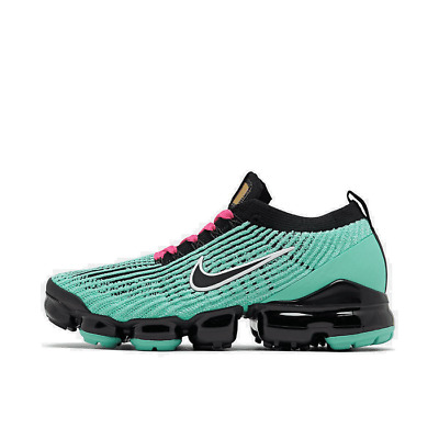 Men's Nike Air VaporMax Flyknit 3 Running Shoes Hyper Turqoise/Black/Pink Blast/