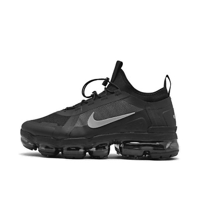 Men's Nike Air VaporMax 2019 Utility Running Shoes Black/Black/White/Reflect Sil