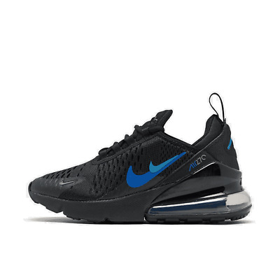 NIKE AIR MAX 270 (GS) Athletic Sneakers Bone Black Boys Size