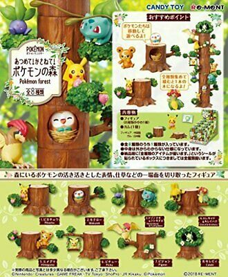 Pokemon Pittori Collection all 8 type set JAPAN import F//S NEW anime Re-ment
