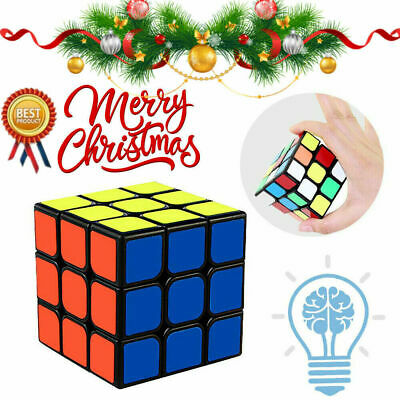 Third-Order Smooth Speed Magic Rubiks Cube Puzzle Easy Twist Educational Toys UW