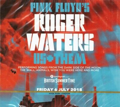 Roger Waters Us+Them Friday 6 July 2018 Hyde Park London 2CD New Sealed