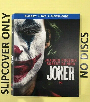 Joker (2020) - Blu-ray Slipcover ONLY - NO DISCS