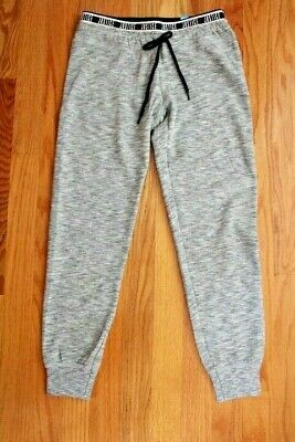 """Justice Girls', Size 8, Gray Joggers with """"JUSTICE"""" Printed on the Waistband"""