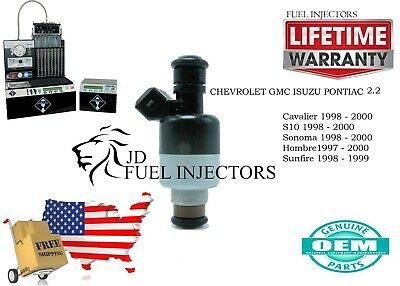 High Flow Set of 4 Fuel Injectors for Hombre S10 Sonoma Sunfire 2.2 Increased HP