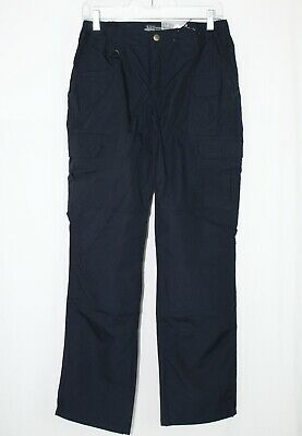 NEW Womens 5.11 TACTICAL 4 Long Navy Blue TACLITE PRO Ripstop Field Cargo Pants