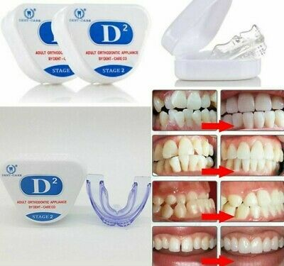 Orthodontic Braces Dental Braces Instant Smile Silicone Teeth Alignment Trainer