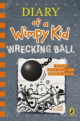 Diary of a Wimpy Children Book 14 Kid Wrecking Ball Jeff Kinney Hardcover 2019