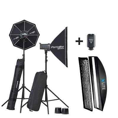 Elinchrom D-Lite RX4 Set with Xlite 30x140cm Strip