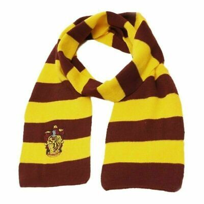 Harry Potter Scarf Gryffindor Slytherin Ravenclaw Hufflepuff Cosplay Tie Gloves