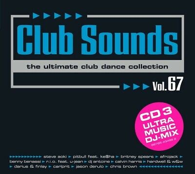 Various - Club Sounds: Vol. 67 - The Ultimate Club Dance Collection [3 CDs]