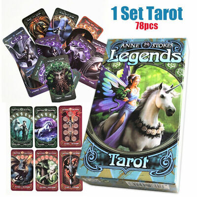 78pcs 60*110mm Wicca Pagan Home Anne Stokes Tarot Card Mythic Card Deck