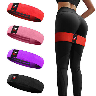 Hip Circle Resistance Band Fitness Loop Elastic Booty Legs Exercise Bands Glute