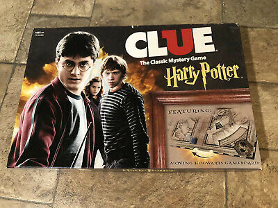 2016 Clue Harry Potter Board Game Complete Game Unpunched Sealed In Open Box