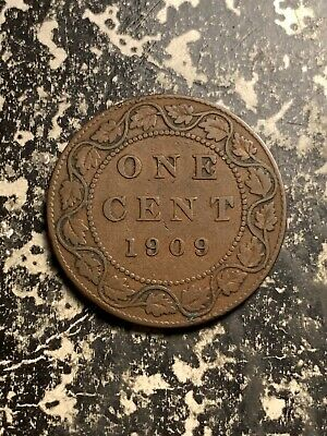 1909 Canada Large Cent Lot#Q0044