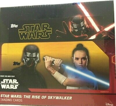 2019 Topps Star Wars The Rise Of Skywalker Retail Box