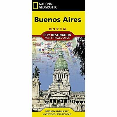 Buenos Aires: City Destintation Map and Travel­ Guide - Sheet map, folded NEW Ma