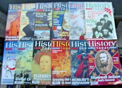 History Today Magazine - 2003 - all 12 issues