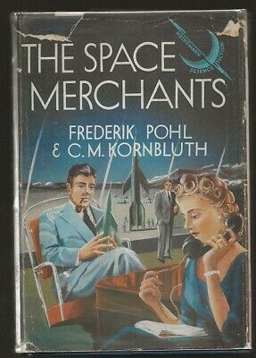 FREDERICK POHL & C.M. KORNBLUTH The Space Merchants. 1st UK ed. Freudian cover!