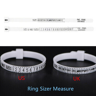 Ring Sizer Measure Finger Gauge Wedding Ring Band  Genuine Tester