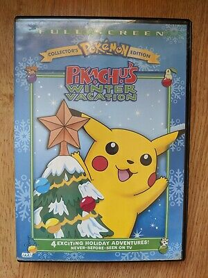 Pokemon - Pikachus Winter Vacation (DVD, 2004, Collectors Edition)