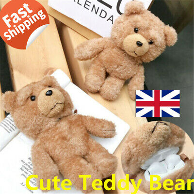 For Apple AirPods Pro Teddy Bear Cute Cartoon Case Protective Cover Airpod 1 2