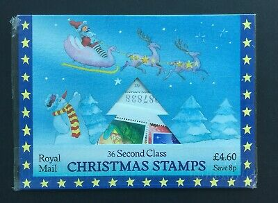 G.B 1987 unopened Royal Mail packet of 36 second class Christmas stamps