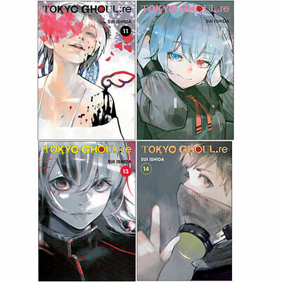 Tokyo Ghoul re Series 4 Books Collection Set by Sui Ishida Volume 11-14 PB NEW