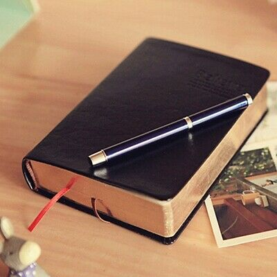 Blank Leather Notebook Vintage Classic Journal Diary Book Thick Sketchbook  H2