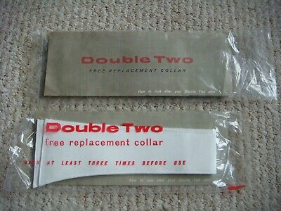 "BNIP Vintage ""Double Two"" replacement Collar Size 16"