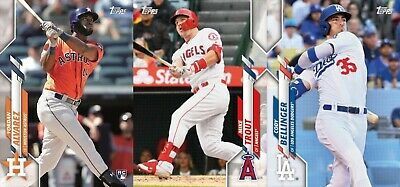2020 Topps Series 1 Baseball Cards Base Team Set U You Pick From List